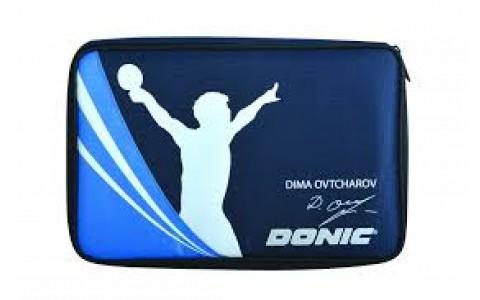 Husa Palete de Tenis, Polyester, Donic, Albastra