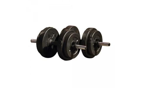 Set Ajustabil de Haltere, Iron Gym IG-DBSET-V15, 15 kg