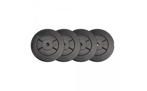 Set greutati, 20kg, 5KG X 4, Iron Gym, IG-VWS-4X5