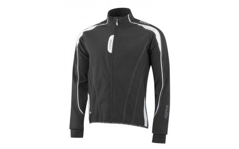 Jacheta Force X72 Men softshell negru-alb XL