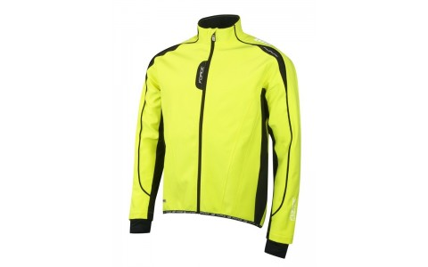 Jacheta Ciclism, Softshell, Force, X72, Verde Fluorescent
