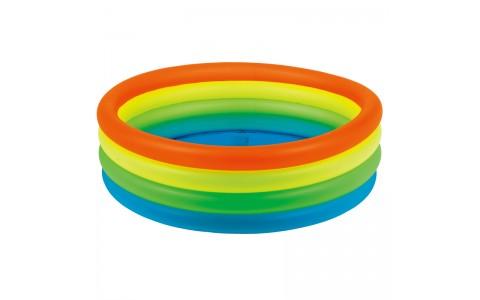 Piscina Gonflabila, Jilong, Neon Fashin Multicolor, 150x150x40 Cm