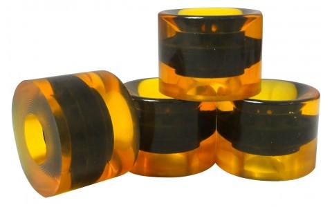 Roti Longboard/Pennyboard, Axer, 60x45 mm, Galben
