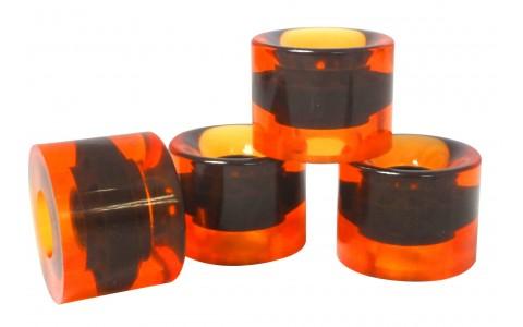 Roti Longboard/Pennyboard, Axer, 60x45 mm, Portocaliu