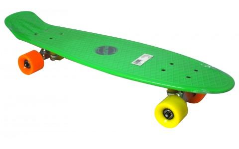 Penny Board, Axer, Orlando, Verde, ABEC 7, 67.5x18.5x10.5 cm