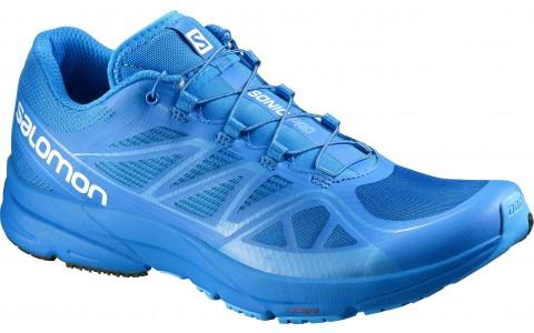 Pantofi Alergare, SALOMON SONIC PRO, Albastru