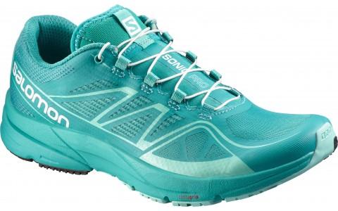 Pantofi Alergare,3D FIT, 3D RIDE, Salomon, Turcoaz