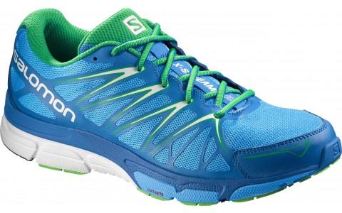 Pantofi Alergare, X-Scream Foil, Salomon, Barbati, Albastru-Verde