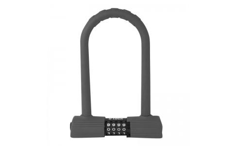 Lacat Force U-Lock cu cifru 24.5x18.5 cm gri