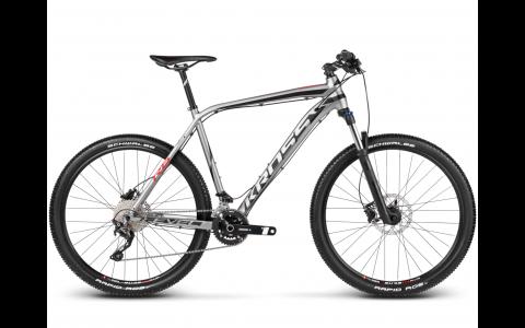 Bicicleta MTB Kross Level R6, 27.5, 2017, negru-rosu