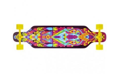 """Longboard Street Surfing, Freeride 39"""", Robot"""