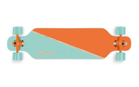 "Longboard Street Surfing, Freeride 39"", Nordic Orange"