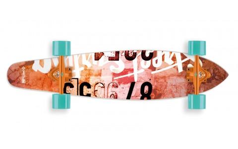 Longboard Street Surfing, Kicktail 36Ó, Urban Rough