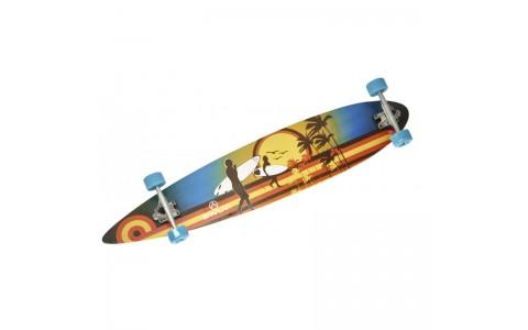 Longboard Surf, Spartan, 46 inch, ABEC 7, Dimensiuni,117x22.5 cm