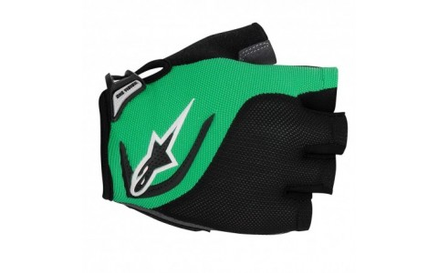 Manusi Alpinestars Pro-Light Short Finger black bright green S