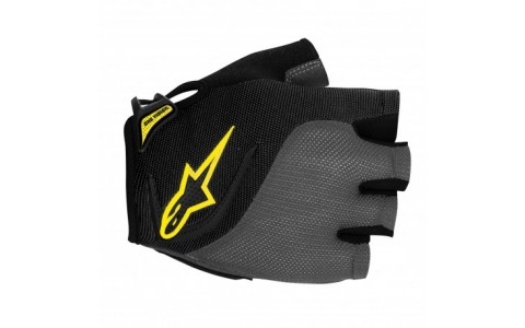 Manusi Alpinestars Pro-Light Short Finger black gray yellow XXL