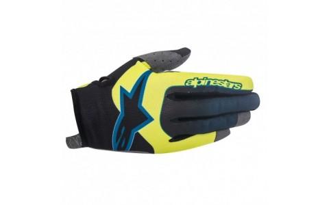 Manusi Alpinestars Vector acid yellow/black XL