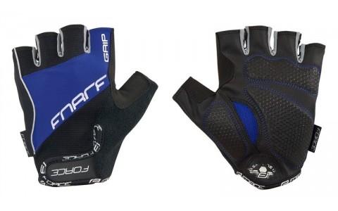 Manusi Force Grip gel negru/albastru XL