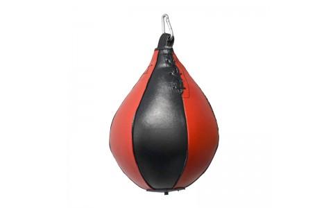 Para Box de Viteza, Master Sport, Speed Ball, Rosu - Negru, 0.3 Kg