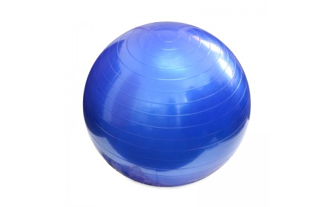 Minge Fitness, MasterSport, Over Ball, Albastru, 26 Cm