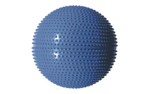 Minge Masaj & Fitness, MasterSport, Albastru, 65 cm