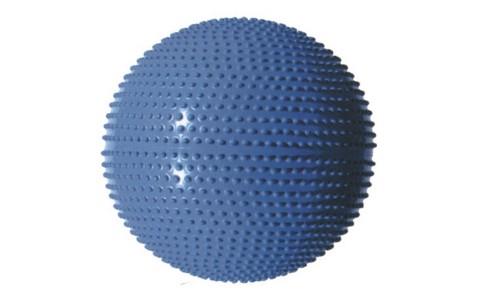 Minge Masaj & Fitness, MasterSport, Albastru, 55 cm