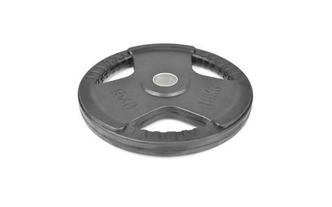 Disc Olimpic, MasterSport, Barbell, Cauciucat, 15 kg