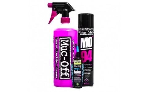 Kit Curatare Bicicleta, Muc-Off, Wash Protect and Lube Kit