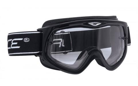 Ochelari Ciclism, Force, Lentile Transparente, Negru
