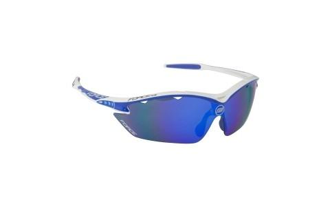Ochelari Ciclism, Force, Ron, Alb-Albastru, Protectie UV
