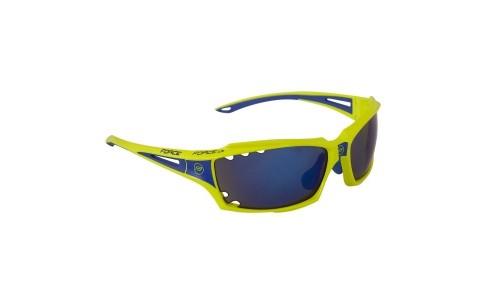 Ochelari Ciclism, Force, Vision, Fluorescent, Lentila Albastra