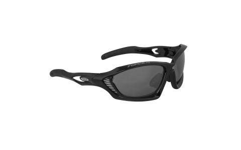 Ochelari Ciclism, Force, Max, Negru, Protectie UV