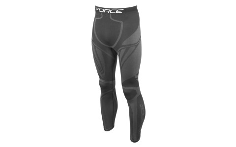 Pantaloni functionali Force Frost negri S-M