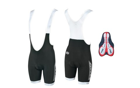 Pantaloni scurti cu bazon si bretele Force B40 S