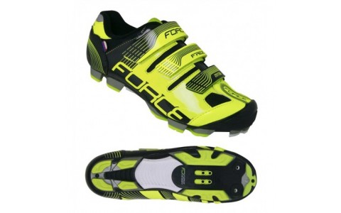 Pantofi Force Free MTB fluo/negru 36