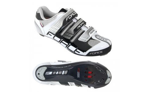 Pantofi Sport, Force, Road, Negru-Alb, Marimea 44