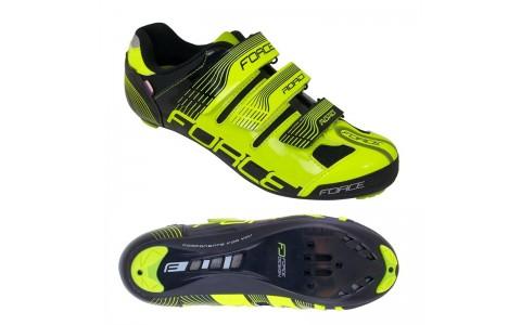 Pantofi Sport, Force, Spike Road, Verde-Negru, Marimea 38