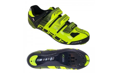 Pantofi Sport, Force, Spike Road, Verde-Negru, Marimea 44