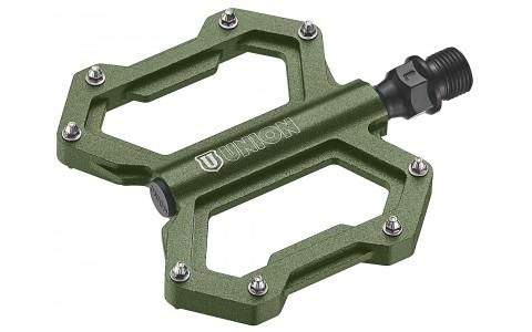 Pedale Bicicleta, Union, Sp-1210, Aluminiu, Verde