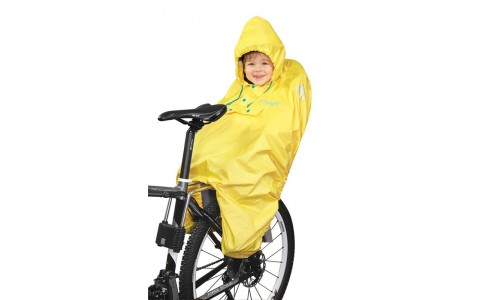Pelerina Ploaie, Force, Pentru Copii, In Scaun Bicicleta, Galben