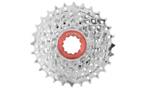Pinioane Bicicleta, pe Caseta, Force, 7V 12-28T, Crom