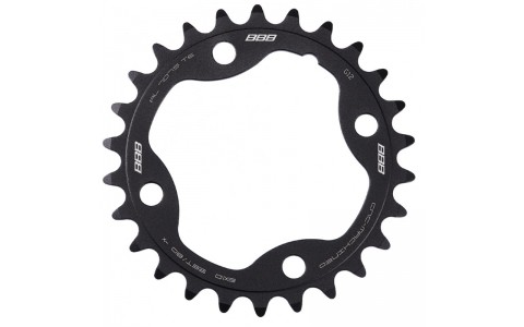 Placa pedalier BBB MTBGear comp. 2x10 Sram XX 26T/80 mm