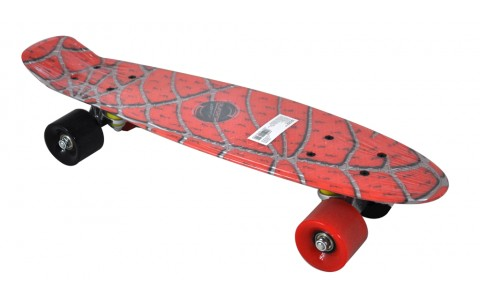 Penny Board, Axer, Nevada, Spider, Plastic, 56x15x10 cm