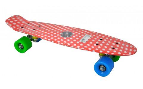 Penny Board, Axer, Nevada, Dots, Plastic, 56x15x10 cm