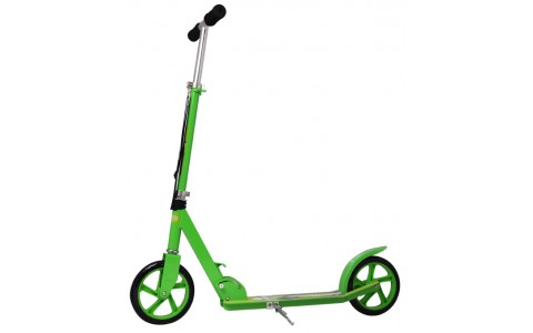 Trotineta Pliabila Scooter, Axer, Speed Wheels, Roti 205 mm, Verde