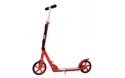 Trotineta Pliabila Scooter, Axer, Speed Wheels, Roti 205 mm, Rosu