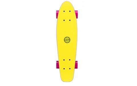 Penny Board, Ultra galben, 22.5 inch, 57x15x9.5 cm