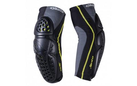 Protectii coate Alpinestars Vento Elbow Protector black/acid yellow M