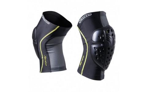 Protectii genunchi Alpinestars Vento Knee Protector black/acid yellow L