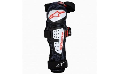 Protectii genunchi si tibie Alpinestars Moab Knee/Shin Guars black/white L/XL